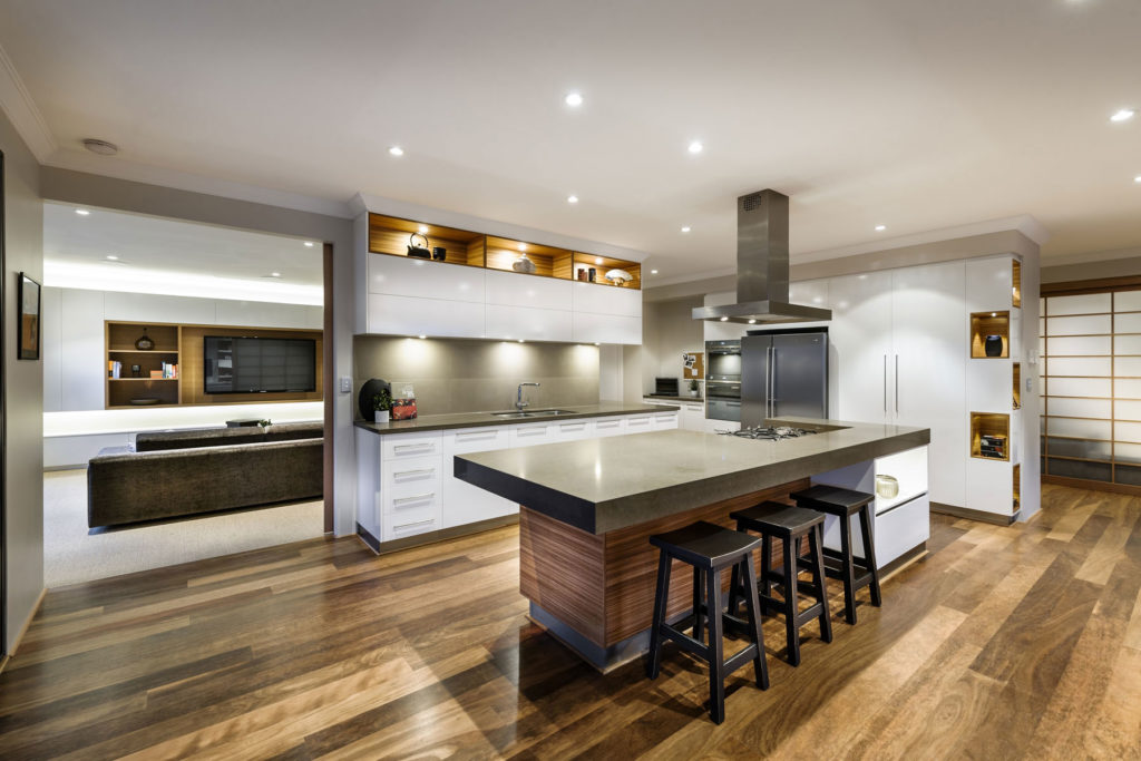 breakfast-bar-kitchen-island-wood-floor-house-in-burns-beach-perth-traditional-japanese-house-wood-floor